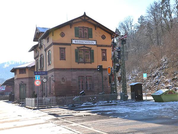 Alter Bahnhof Dillweißenstein
