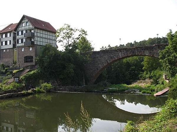 Bogenbrücke Dillweißenstein